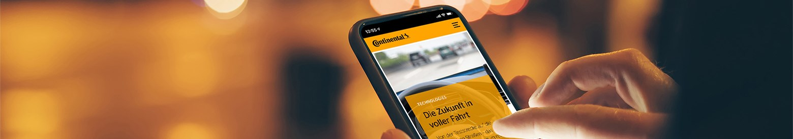 Continental Magazin 2020 Visual Newsletter